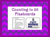 Numbers Zero to Twenty Flashcards