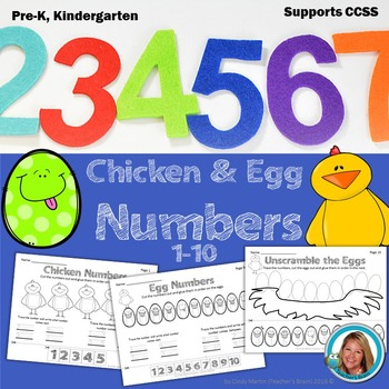 Numbers and Cardinality - Counting 1-10 Kindergarten