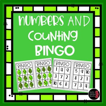 Numbers and Counting Bingo- Numbers 1-10