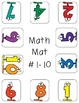 Numbers and Counting Clothespin Activity Mats (39 included)