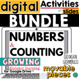 Numbers and Counting Digital Activities for Google Classro