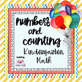Numbers and Counting: Kindergarten Math