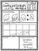Numbers and Counting Kindergarten Math Assessment - Pre and Post Unit Tests