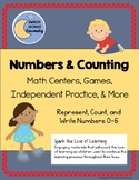 Numbers and Counting - Math Centers, Games, Independent Pr