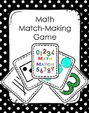 Numbers and Counting Memory Match Game