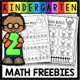 Numbers and Counting Worksheets - FREE - More Than Less Than
