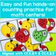 Math Center Activities: Apple Counting to Ten Puzzles!