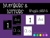 Numbers and Letters - Bright Colors
