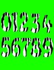 Math Numbers Clipart - Zebra