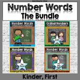 Number Words Printables & Activities Bundle