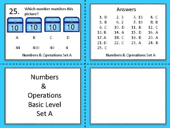 Numbers and Operations Basic Level