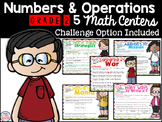 Numbers and Operations Differentiated Math Centers Grades 2