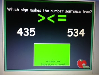 Numbers and Operations Test Prep SmartBoard for Grades 3 and 4