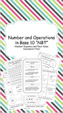Numbers and Operations in Base 10 Assessment Pack
