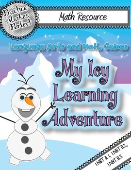 Numbers and Operations in Base 10 Practice:  My Icy Learning Adventure