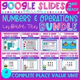 Numbers and Operations in Base Ten 2nd Grade Google Slides Distance Learning