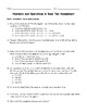 Numbers and Operations in Base Ten Assessment: 4th Grade Math Common Core