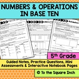 Numbers and Operations in Base Ten Bundle