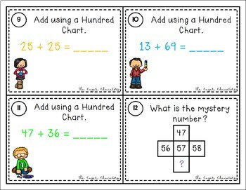 Numbers and Operations in Base Ten Scoot Bundle