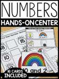 Numbers and Place Value 10-25 Hands-On Center: Rainbow Theme