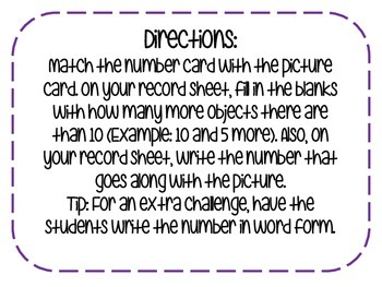 Numbers and Place Value