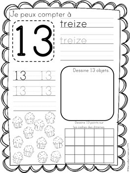 Numbers and Quantities for Early Primary Mathematics - in French, en français