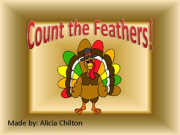 Numbers and Sets Turkey Feathers