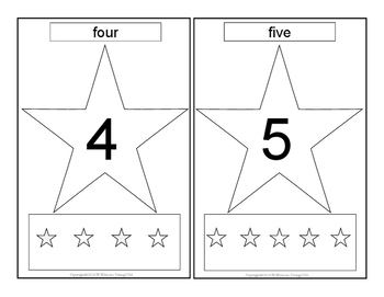 Numbers and Shapes Cards II
