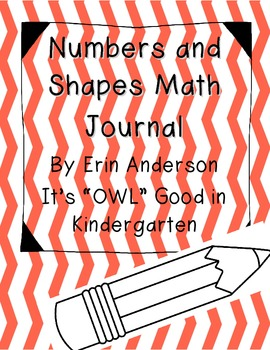 Numbers and Shapes Math Journal