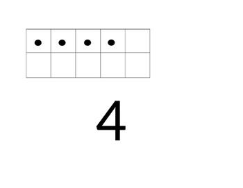 Numbers and Tens Frames Mats- Use w/ Link manipulatives or dry erase)