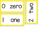 Number Word Cards 0-10 - Polka Dot