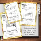 Numbers and circles handwriting workbook