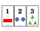 Numbers and shapes poster