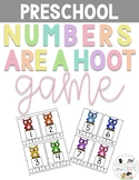 Numbers are a hoot! Math Center for Preschool, Pre-K, and