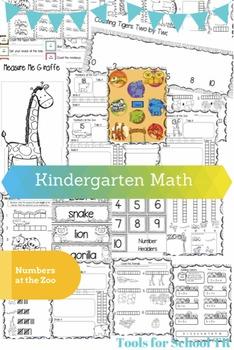 Kindergarten Math at the Zoo
