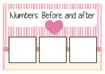 Numbers: before and after
