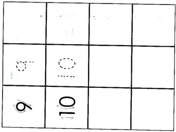 Numbers-bold, trace, write