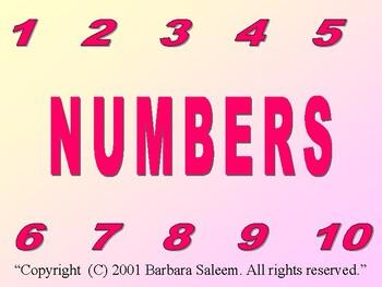 Numbers by B. Saleem