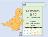 Numbers cards  0-10