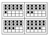 Numbers cards and ten frames for 11-20