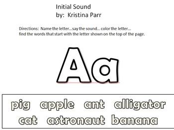Phonics beginning sounds