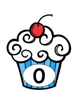 Numbers {cupcake theme}