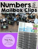 Numbers for Mailbox Clips