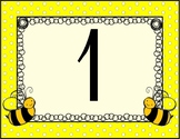 Numbers for Spelling Bee or Math Bee