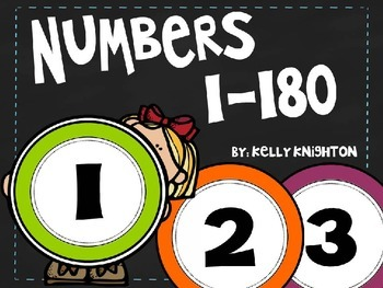 Numbers for a Number Line {1-180}