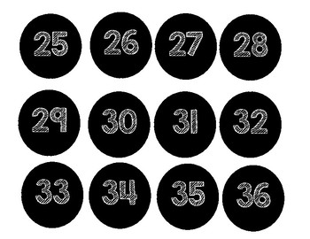 Numbers for organization
