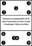 Numbers from 1 to 10 in Spanish - Números del 1 al 10 en español