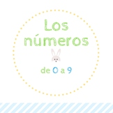 Numbers from 1 to 9  in spanish - Los números de 1 a 9