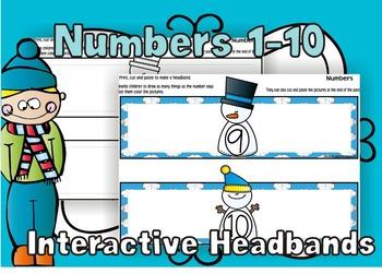 Numbers Headbands
