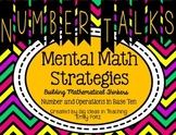 Numbers in Base 10 Number Talks Mental Math